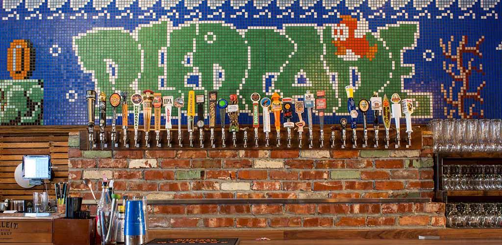 Beer taps from Beercade