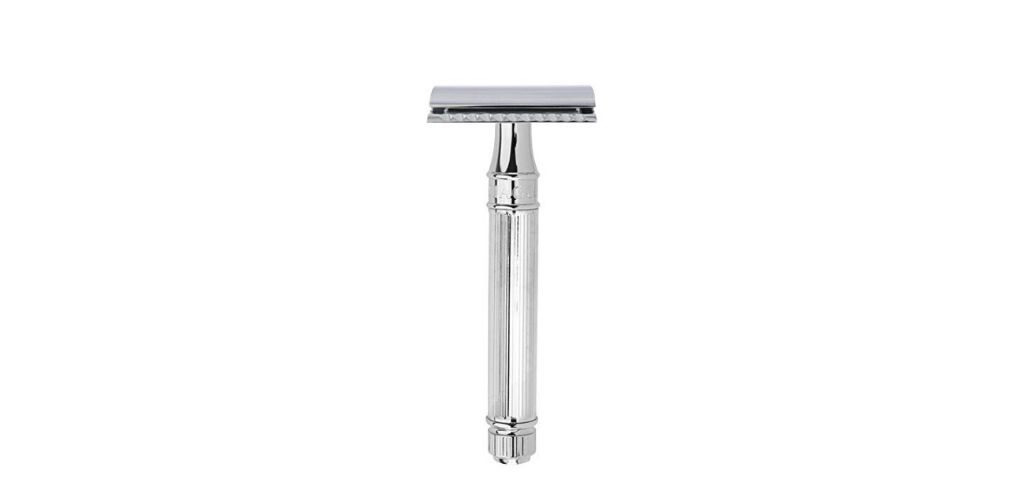one of the best safety razors for those with acne prone skin,Edwin Jagger Double Edge