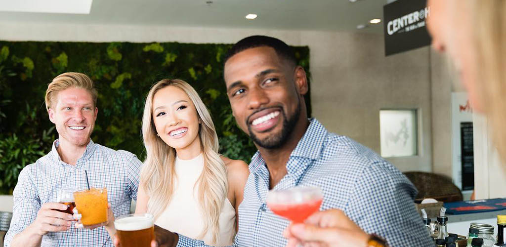 It's a drink lover's paradise at Center Hub where Irvine hookups can be found