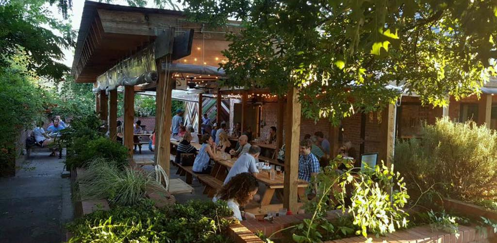 Mingle over beer and comfort food at Geer Street Garden and get laid in Durham