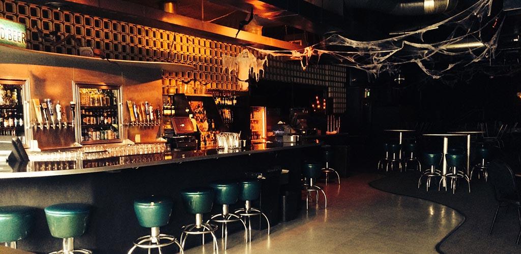Main bar at theNeurolux Lounge
