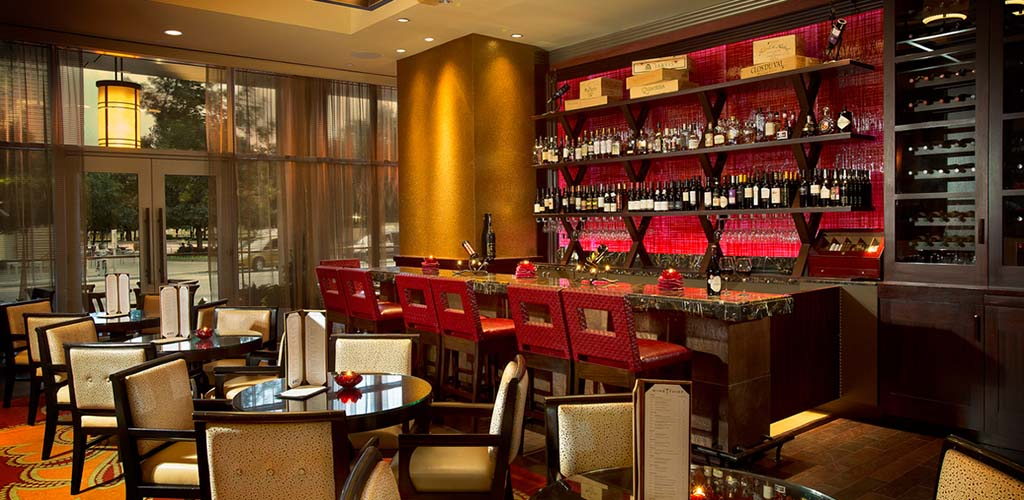 The bar area of Wine Thief