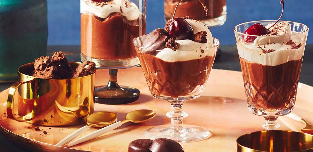 Chocolate desserts from Provigo