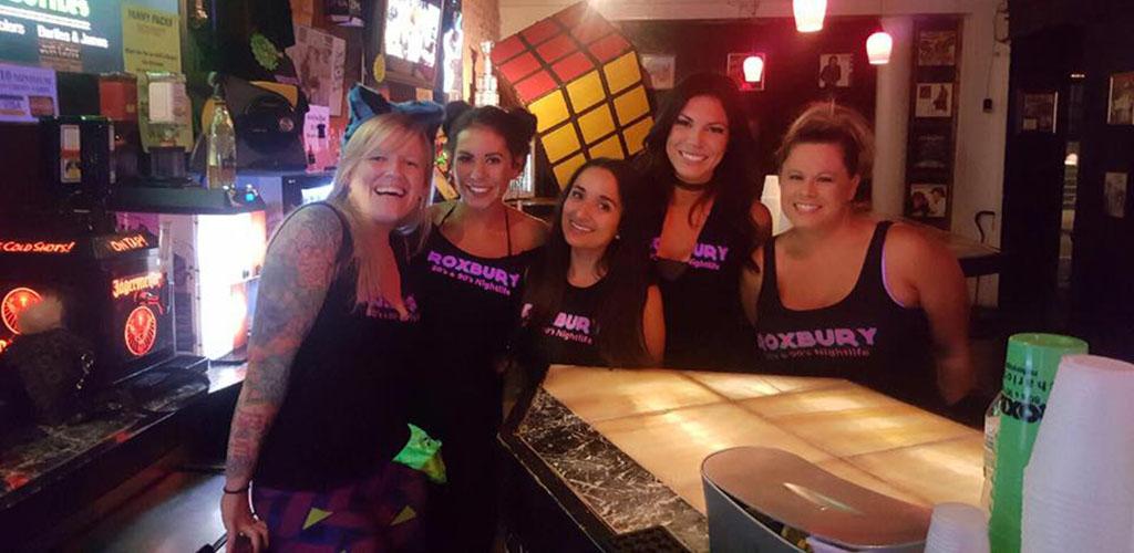 Hot women at Roxbury Nightclub