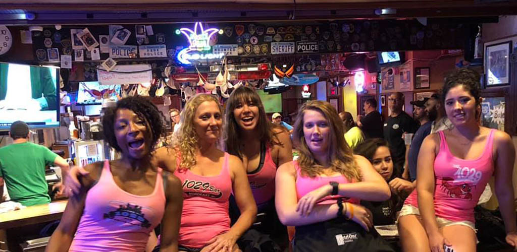 The beautiful staff at The 1029 Bar