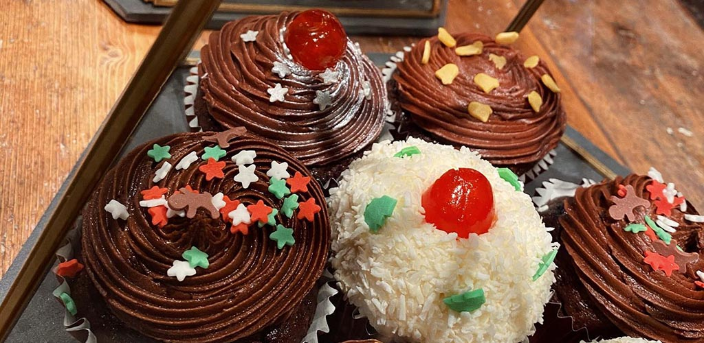 Cupcakes from 3 Three's Coffee