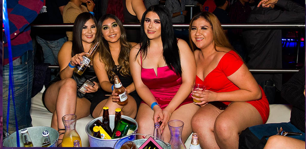 Curvy ladies drinking at Aldo's Night Club