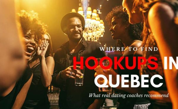 A crowded pub where Quebec hookups happen
