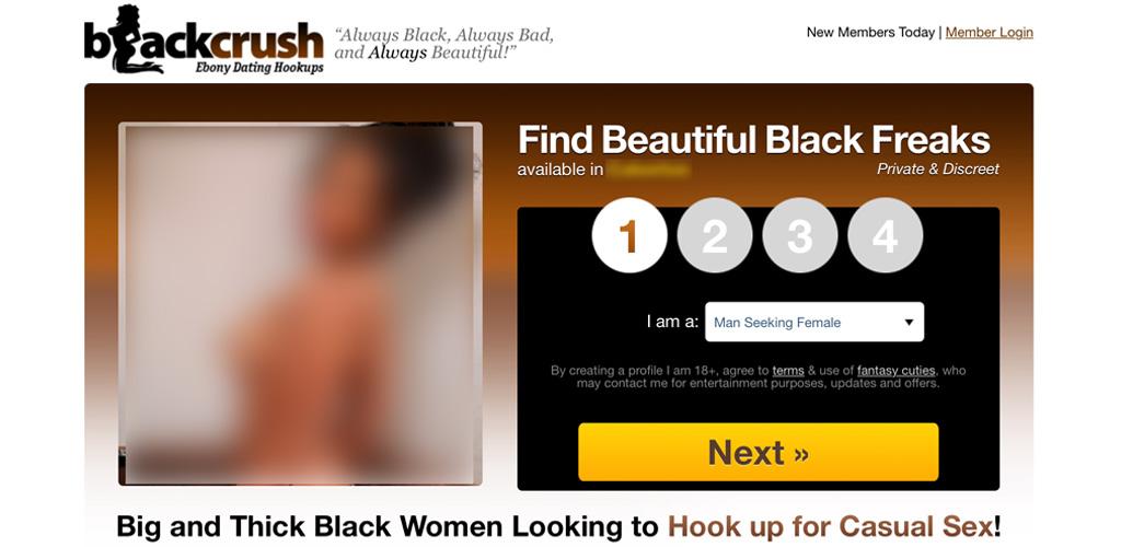 BlackCrush home page