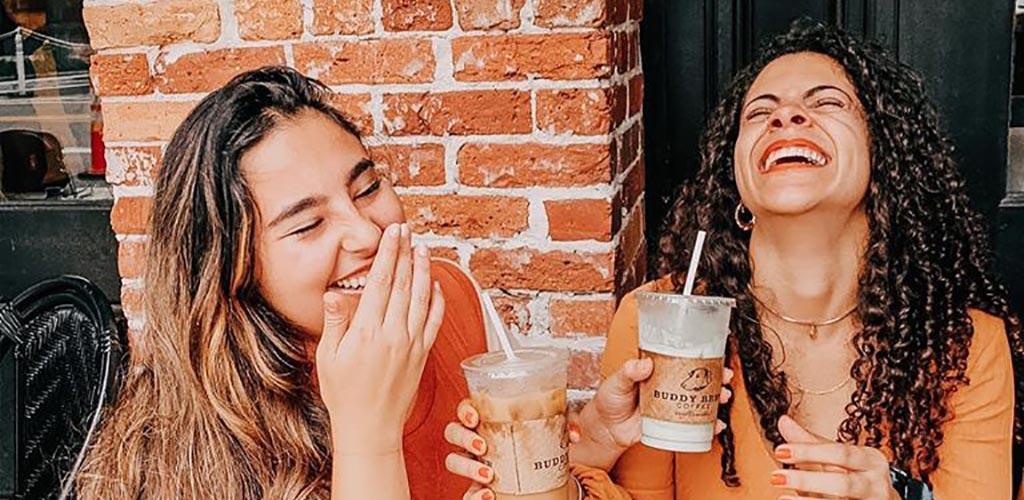 BBW in Tampa enjoying their coffee from Buddy Brew