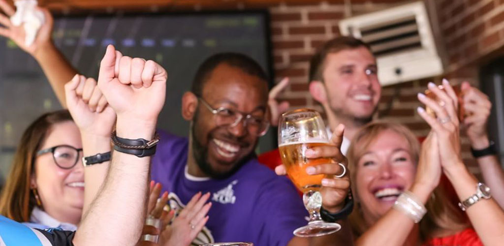 Guzzle a brew and find Winston Salem hookups at the Carolina Ale House
