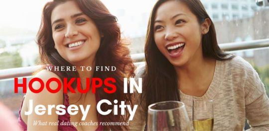 Cute girls at an outdoor bar looking for Jersey City hookups