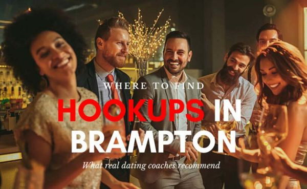 Friends at a club looking for hookups in Brampton