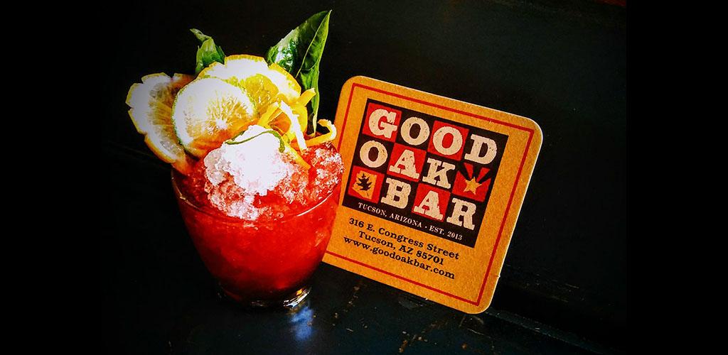 A cocktail from Good Oak Bar