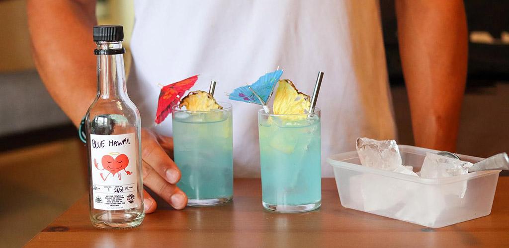 Cocktails from Her Majesty's Secret Service Bar