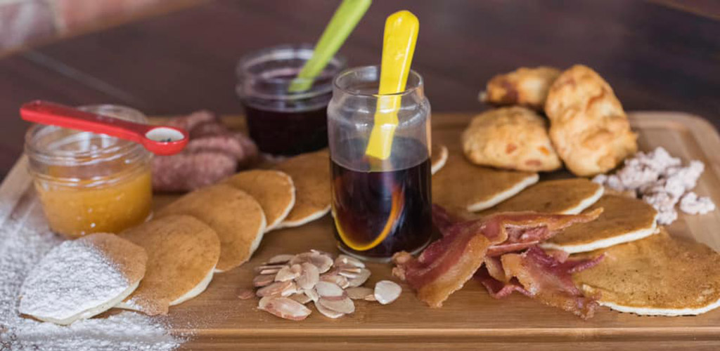A breakfast charcuterie board from Hair of the Dog Eatery