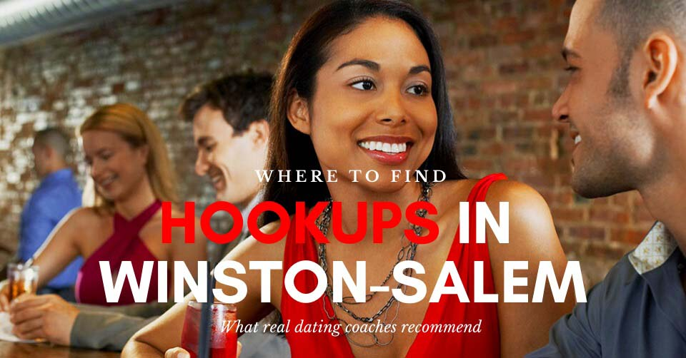 Singles at a bar waiting for hookups in Winston-Salem