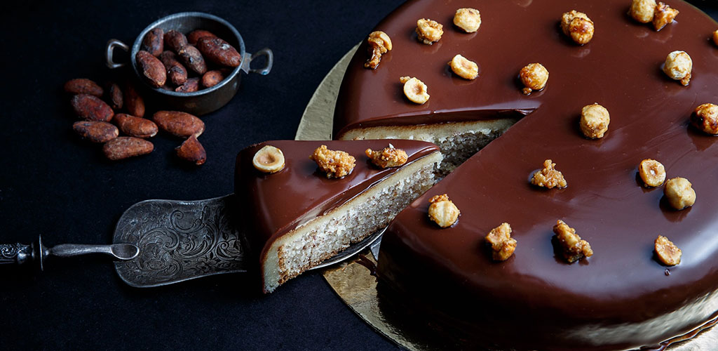 The chocolate cake from Thierry Chocolat