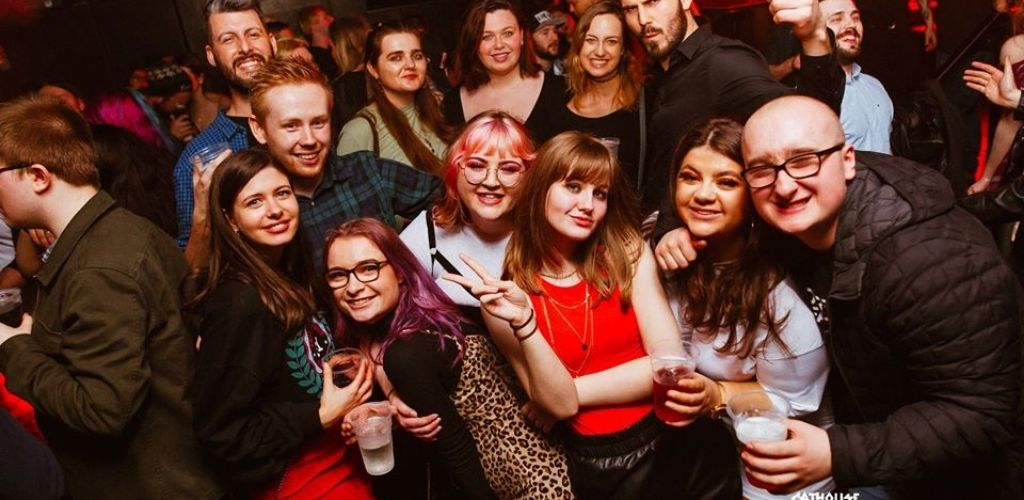 Glasgow singles hooking up and drinking at the Cathouse nightclub