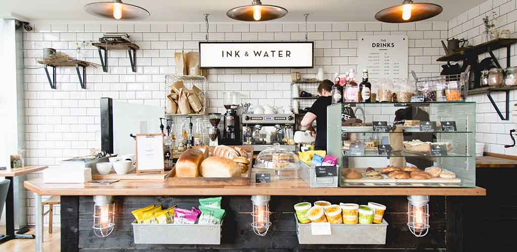 Inside Ink and Water Coffee