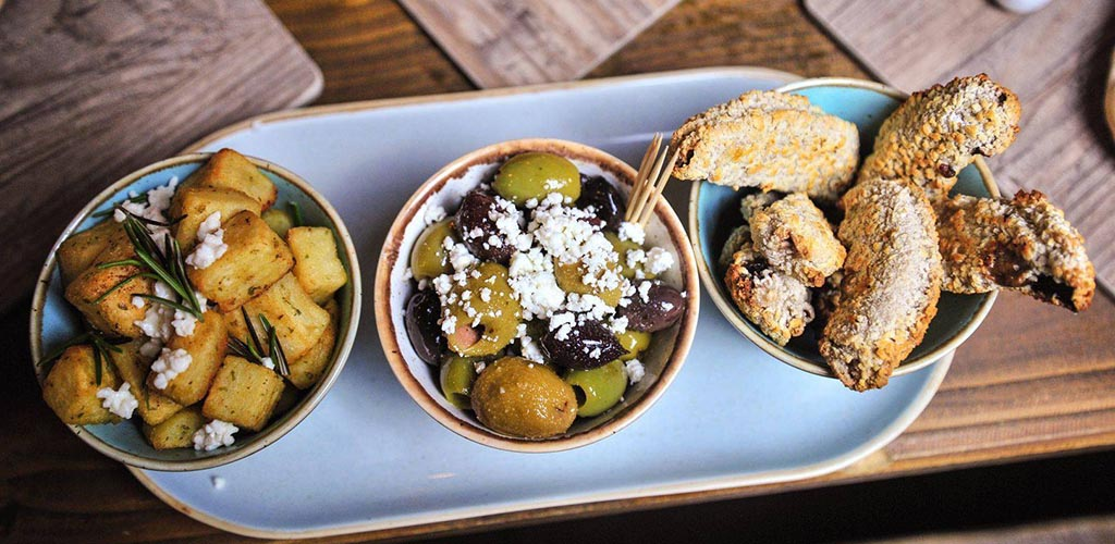 Appetizers from Parkside Tavern