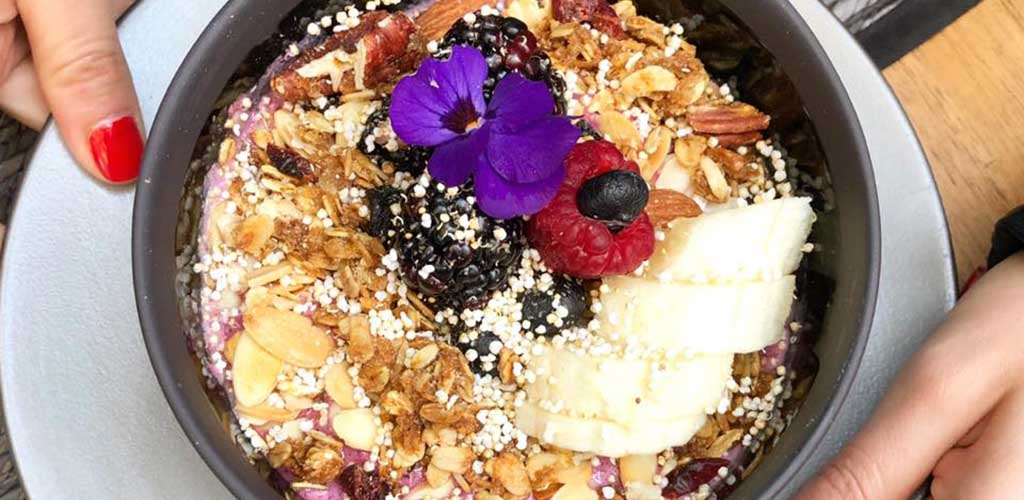Acai bowls from Passionfoods