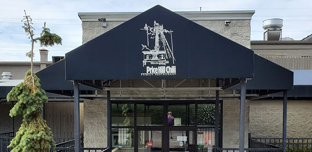 The entrance to Price Hill Chili
