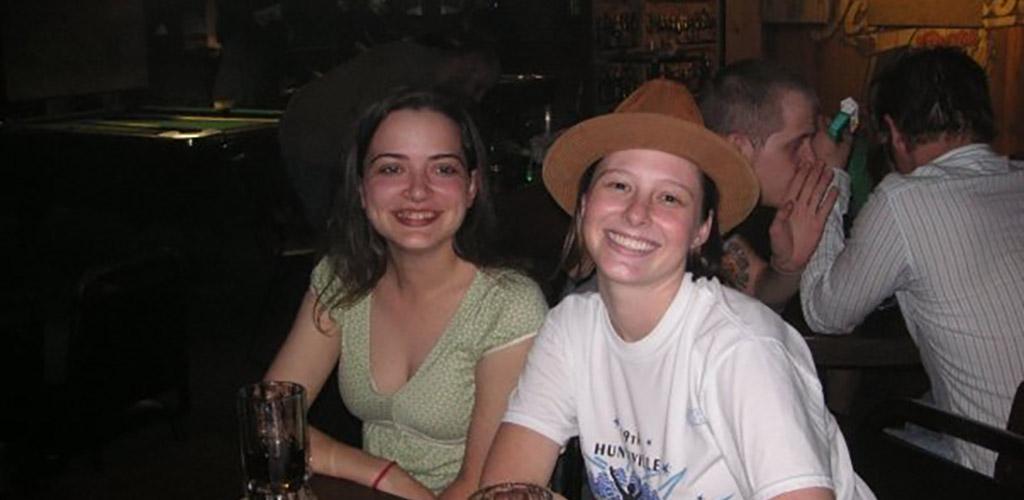 Single ladies at Tanstaafl Pub
