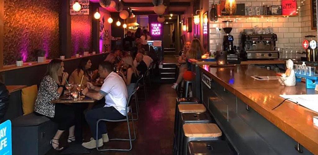 Inside Toast Wine Bar