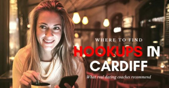 A woman looking for Cardiff hookups in a pub