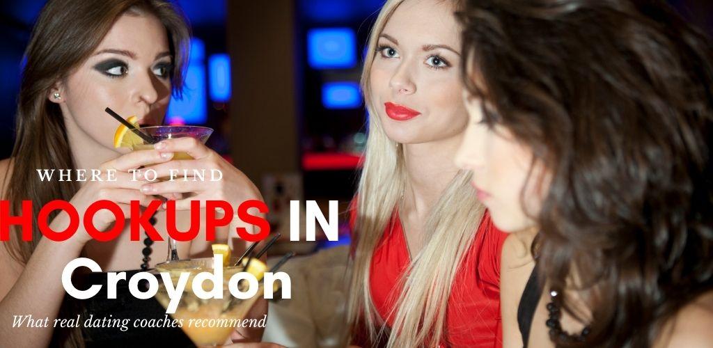 Beautiful woman enjoying a beer while searching for Croydon UK hookups