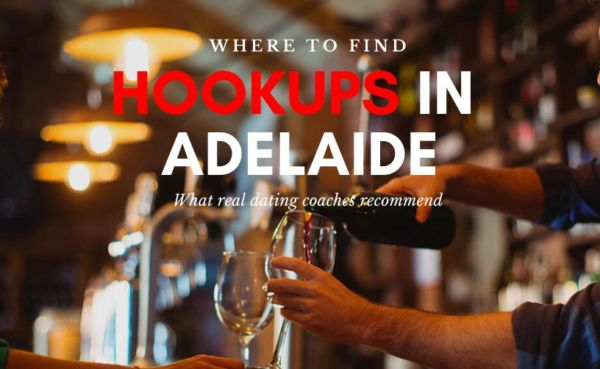 Man and woman having wine waiting for Adelaide hookups