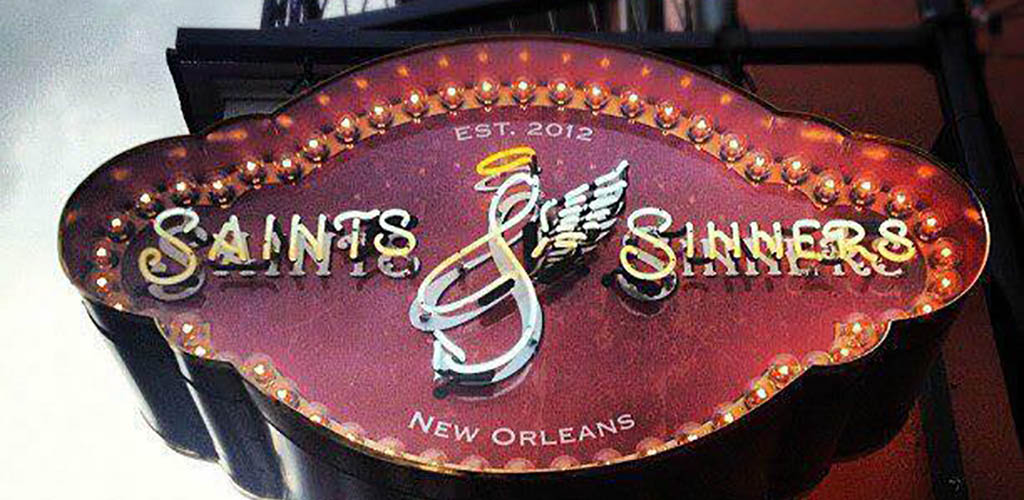 The sign of Saints and Sinners