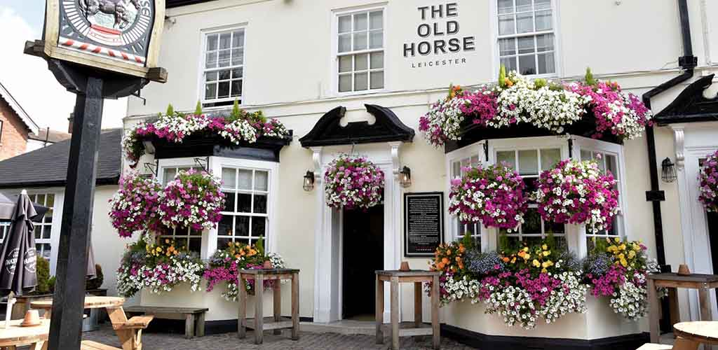 Exterior of The Old Horse