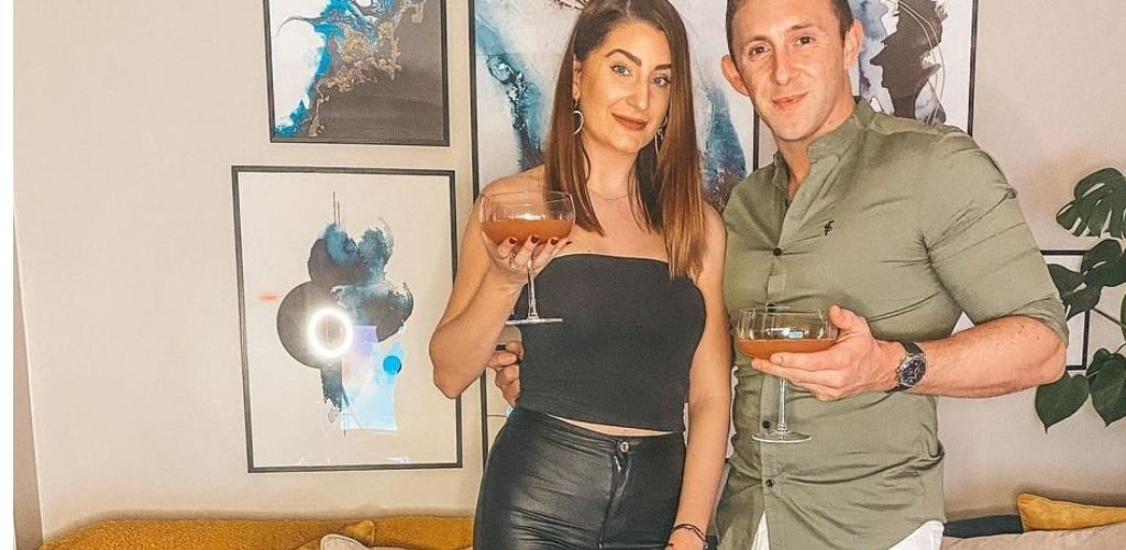 A cute Leicester couple drinking cocktails at 33Cankstreet