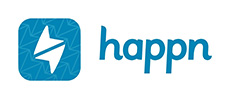 happn dating app logo