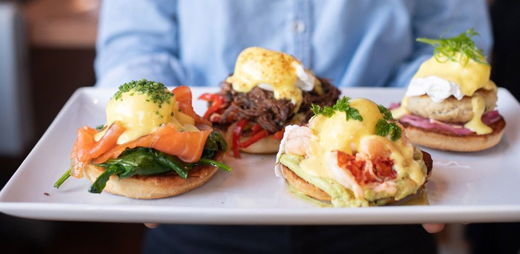 Brunch sandwiches from Island Creek Oyster Bar