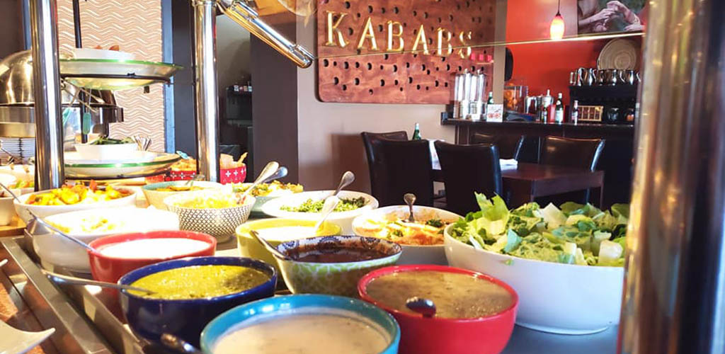 Various dips and sides available at Kababs