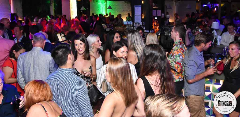 The dance floor of Stingray Lounge where you can find Gold Coast hookups