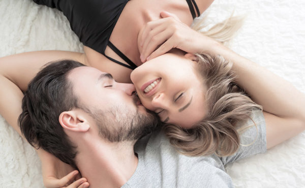 Kissing the ear is one of the top physical turn ons for a girl