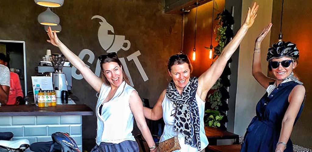 The fun crowd at Craft Coffee