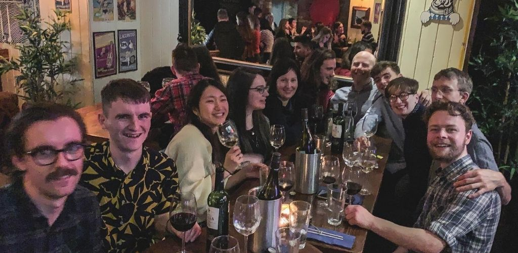 Dublin singles drinking and hooking up at Clement and Pekoe