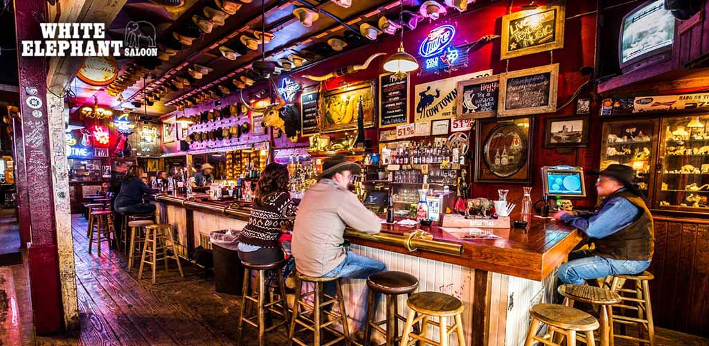 White Elephant Saloon is a great Fort Worth bar