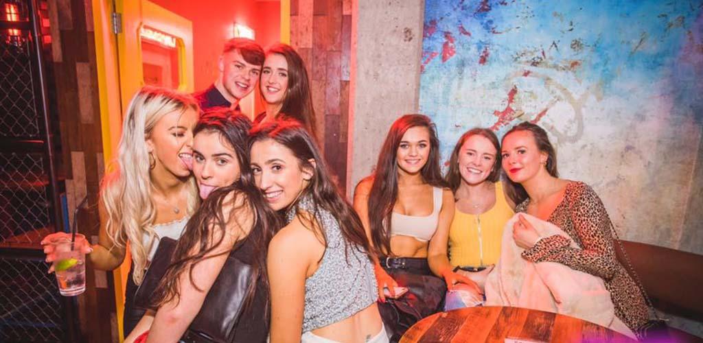 Gorgeous Cork girls at Bowery