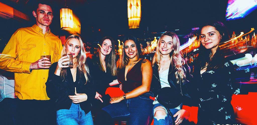 Sexy ladies at Win-win Bar