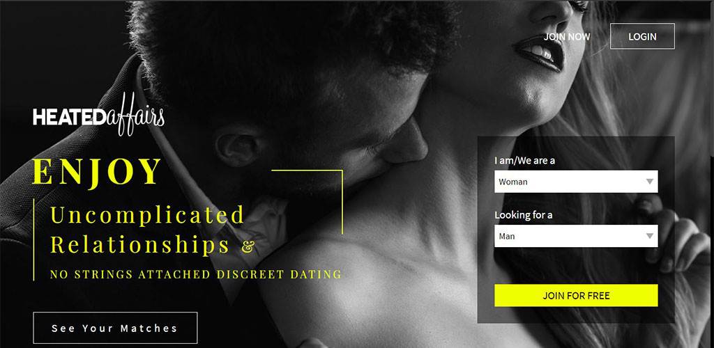 Adult Friendfinder homepage