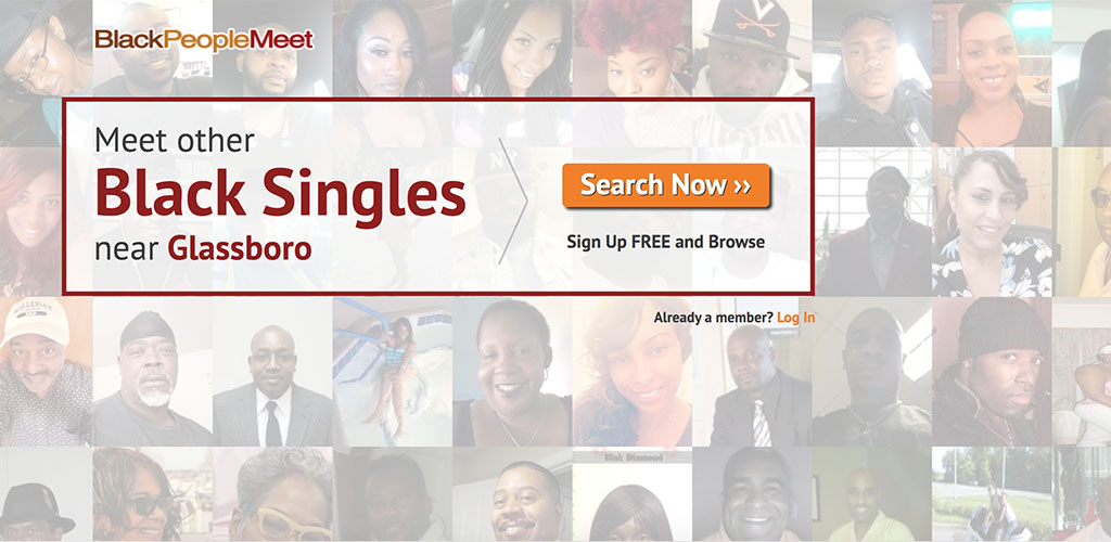 Homepage for Black People Meet