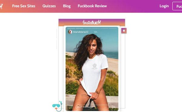 Homepage for instafuck.com