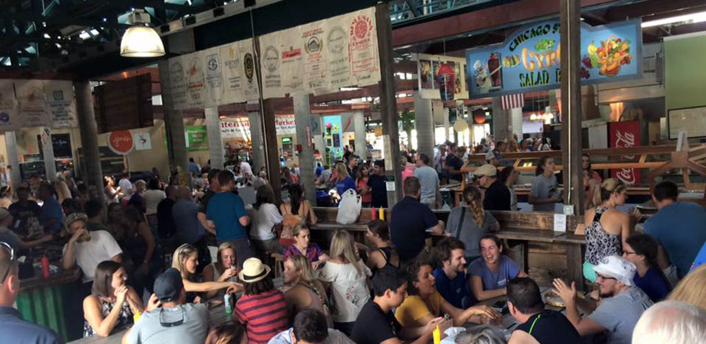 Beer gardens like The Picnic Tap are popular spots for finding Nashville casual encounters