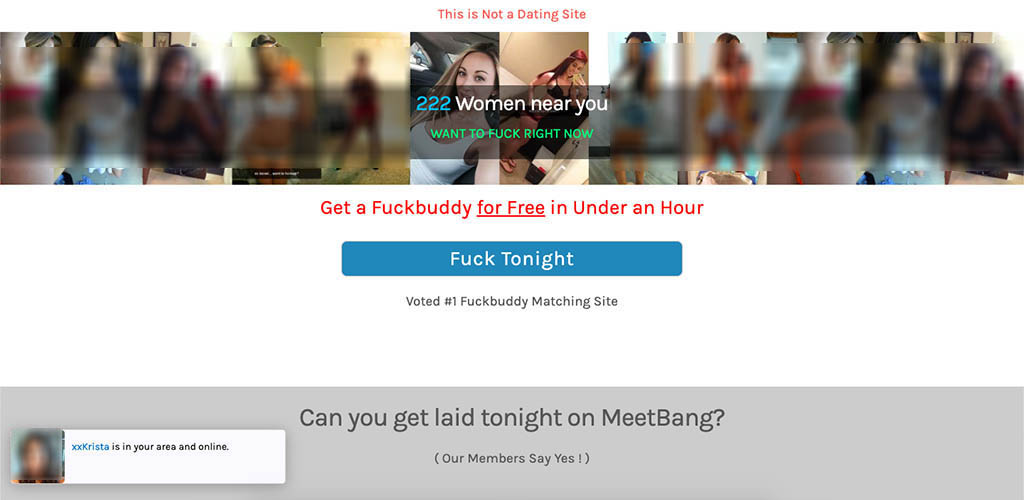 MeetBang Review Landing Page